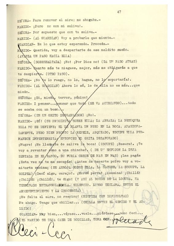 Soñar con Ceci trae cola [C5] | Shelfnum : CDM-AA2-27-C5 | Page : 62 | Content : facsimile