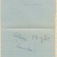 [Carnet n° 12] | Shelfnum : CDM-AG-12 | Page : 1 | Content : facsimile