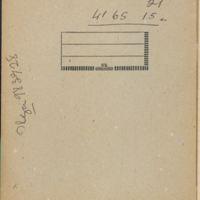 [Carnet n° 08] | Shelfnum : CDM-AG-08 | Page : 1 | Content : facsimile