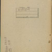 [Carnet n° 11] | Shelfnum : CDM-AG-11 | Page : 1 | Content : facsimile